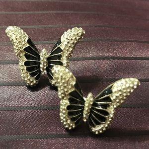 Bebe Adorable Butterfly Earrings
